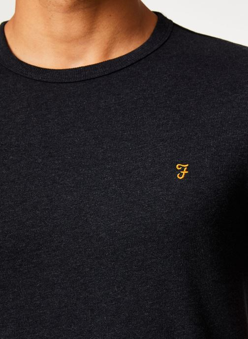 Vêtements Farah F4KF9044 Noir vue face