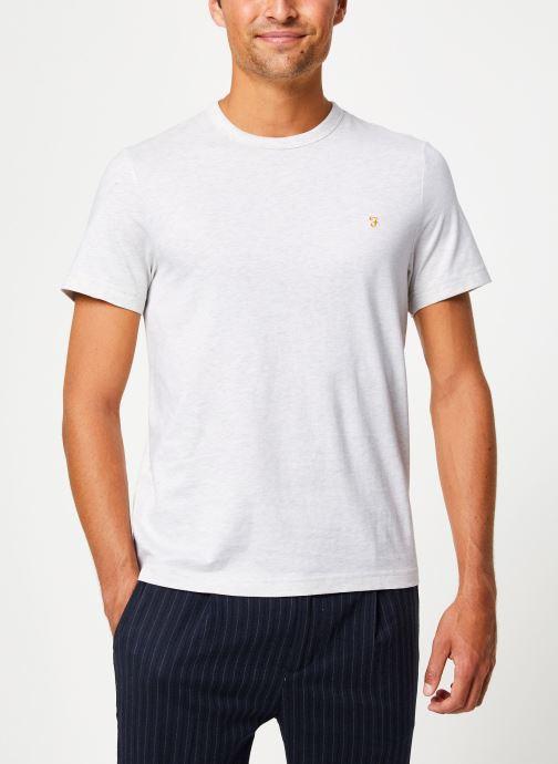 Vêtements Farah F4KF9044 Blanc vue détail/paire