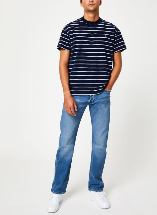 Vêtements Farah F4KF9046 Bleu vue bas / vue portée sac