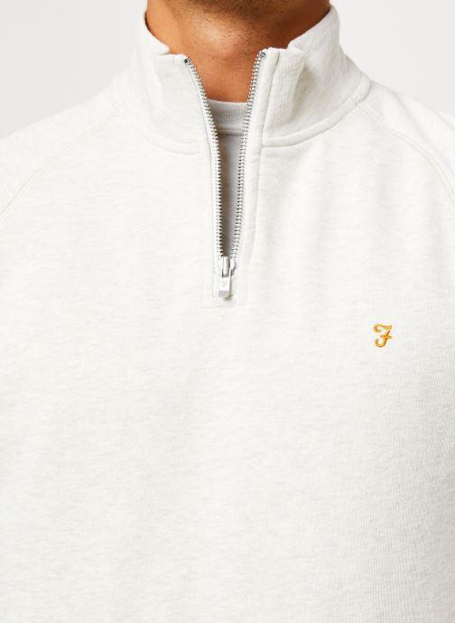 Vêtements Farah F4KS80H3 Blanc vue face