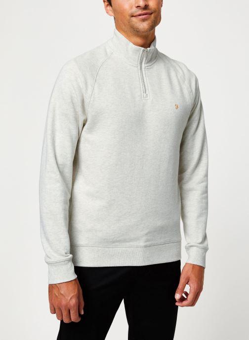 Vêtements Farah F4KS80H3 Blanc vue détail/paire