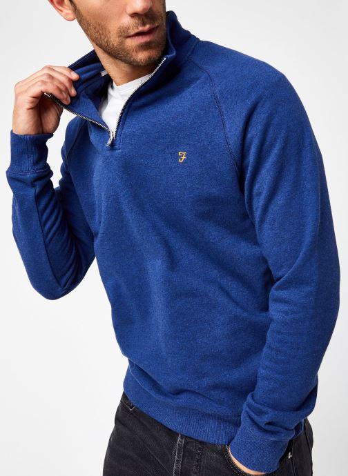 Vêtements Farah F4KS80H3 Bleu vue détail/paire