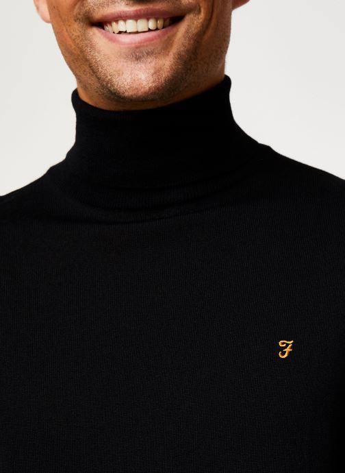 Vêtements Farah F4GF6065 Noir vue face