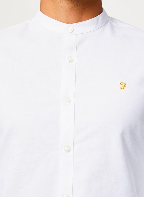 Vêtements Farah F4WF60D8 Blanc vue face