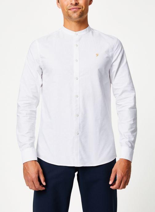 Vêtements Farah F4WF60D8 Blanc vue droite