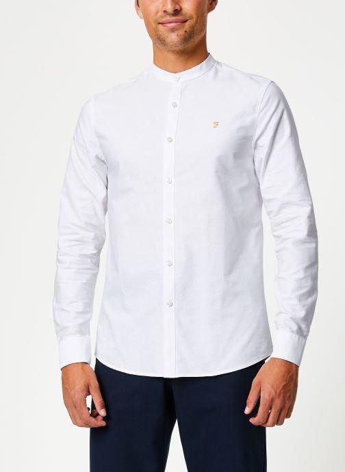 Vêtements Farah F4WF60D8 Blanc vue détail/paire
