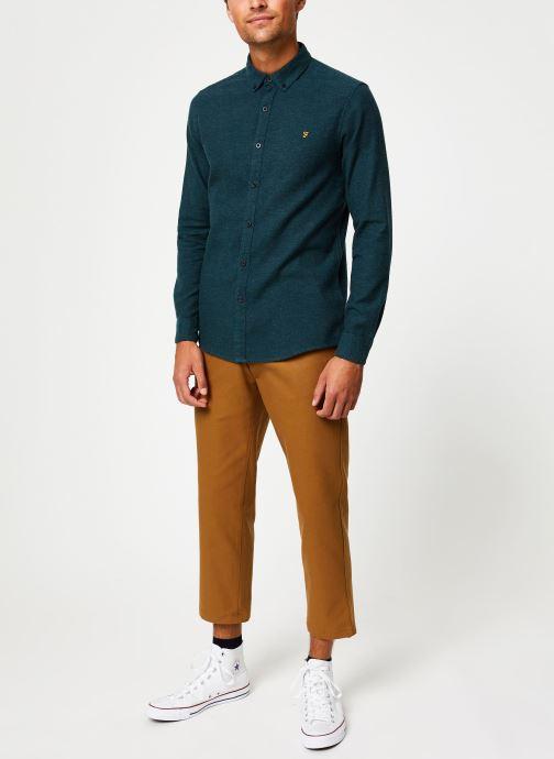 Vêtements Farah F4WH8018 Vert vue bas / vue portée sac