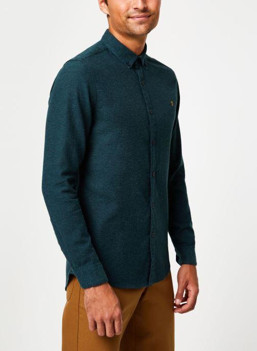 Vêtements Farah F4WH8018 Vert vue détail/paire
