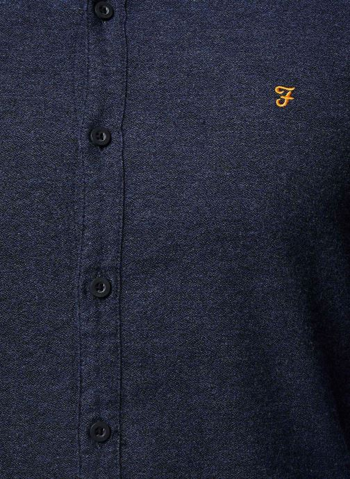 Vêtements Farah F4WH8018 Bleu vue face