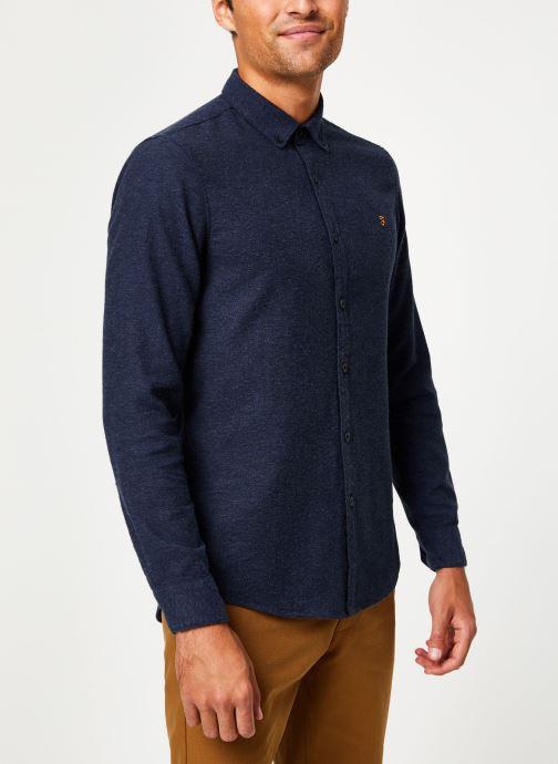 Vêtements Farah F4WH8018 Bleu vue détail/paire