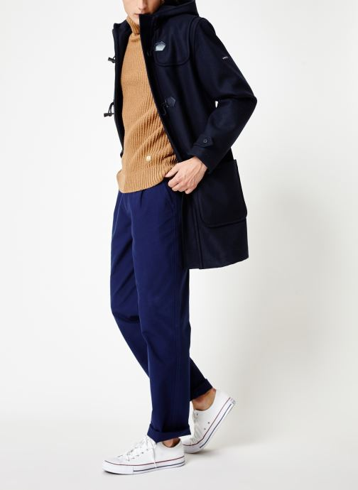 Vêtements Armor Lux Duffle Coat Quimper Bleu vue bas / vue portée sac
