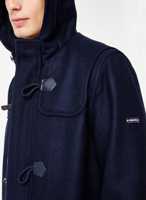 Vêtements Armor Lux Duffle Coat Quimper Bleu vue face
