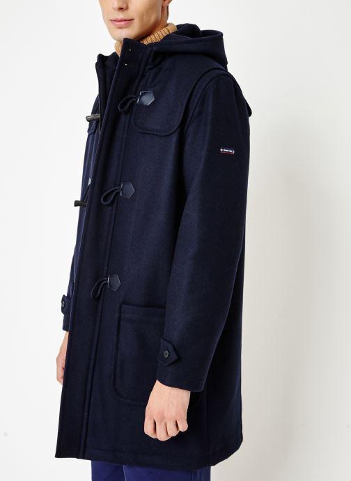 Vêtements Armor Lux Duffle Coat Quimper Bleu vue droite