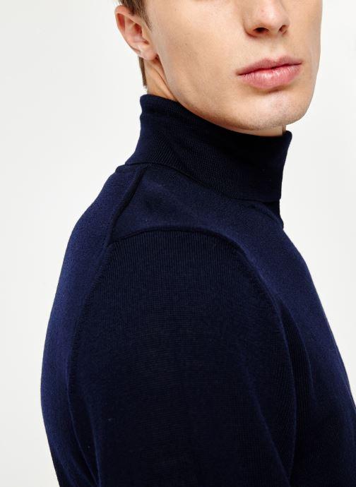 Vêtements Armor Lux Pull Ferel Bleu vue face