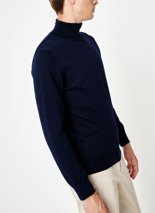Vêtements Armor Lux Pull Ferel Bleu vue droite
