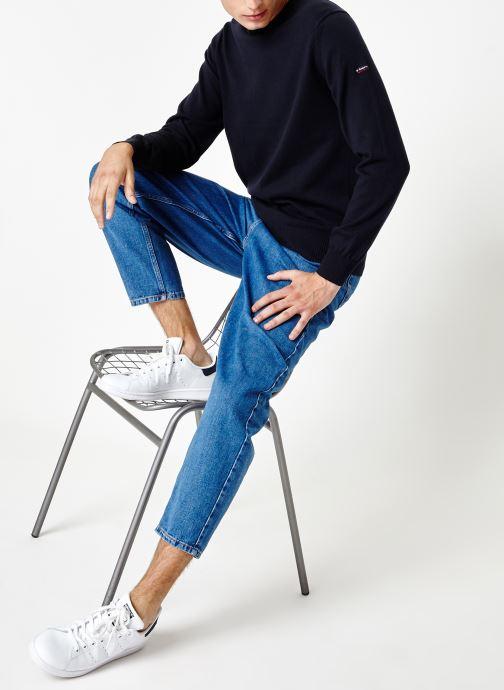 Vêtements Armor Lux Pull Carantec Bleu vue bas / vue portée sac