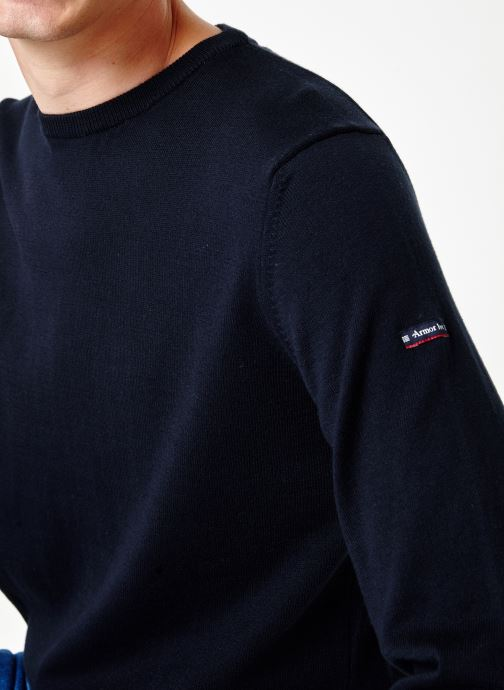 Tøj Armor Lux Pull Carantec Blå se forfra