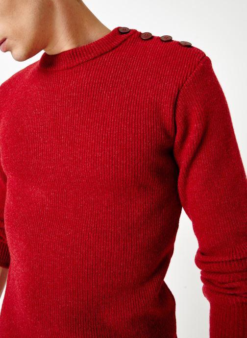 Vêtements Armor Lux Pull Marin Héritage Rouge vue détail/paire