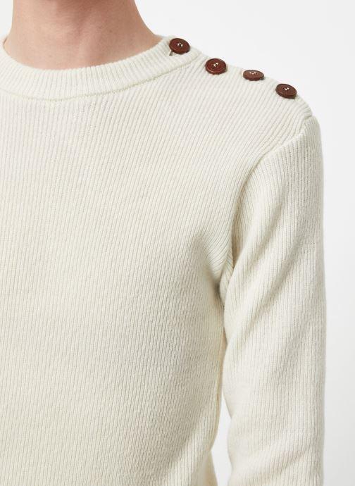 Vêtements Armor Lux Pull Marin Héritage Blanc vue face