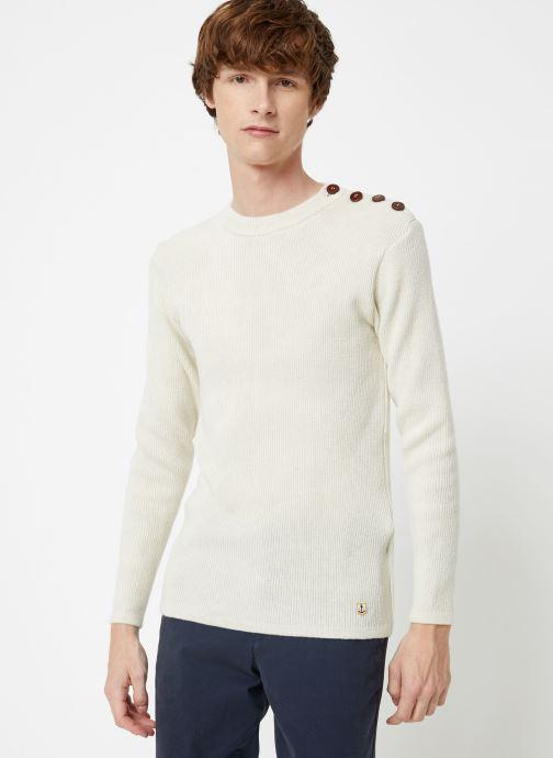 Vêtements Armor Lux Pull Marin Héritage Blanc vue détail/paire