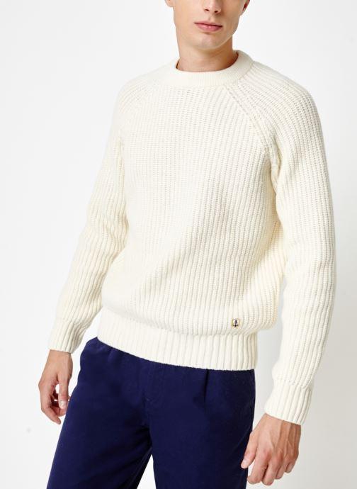 Vêtements Armor Lux Pull Col Rond Héritage Blanc vue détail/paire