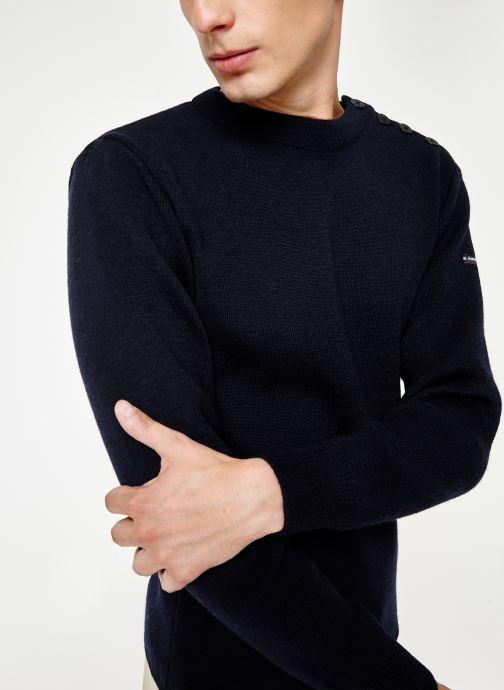 Vêtements Armor Lux Pull marin uni Fouesnant Bleu vue détail/paire