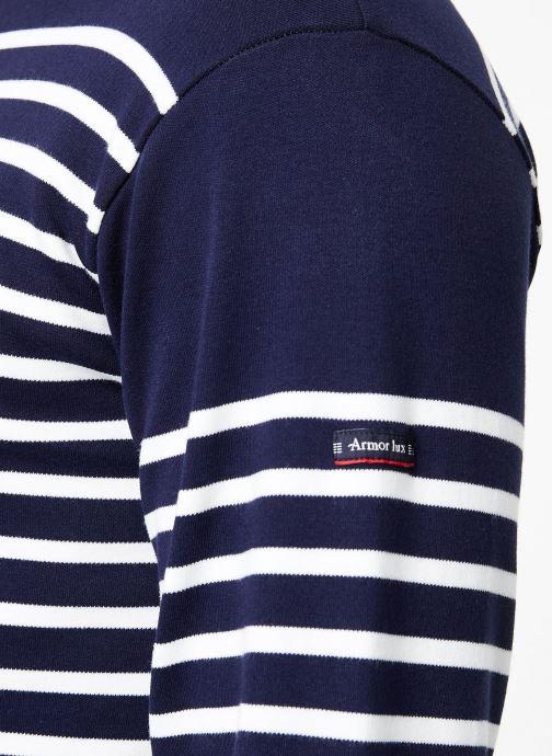 Vêtements Armor Lux Marinière Amiral Bleu vue face
