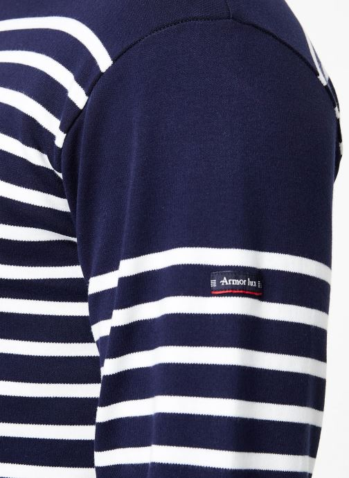 Tøj Armor Lux Marinière Amiral Blå se forfra