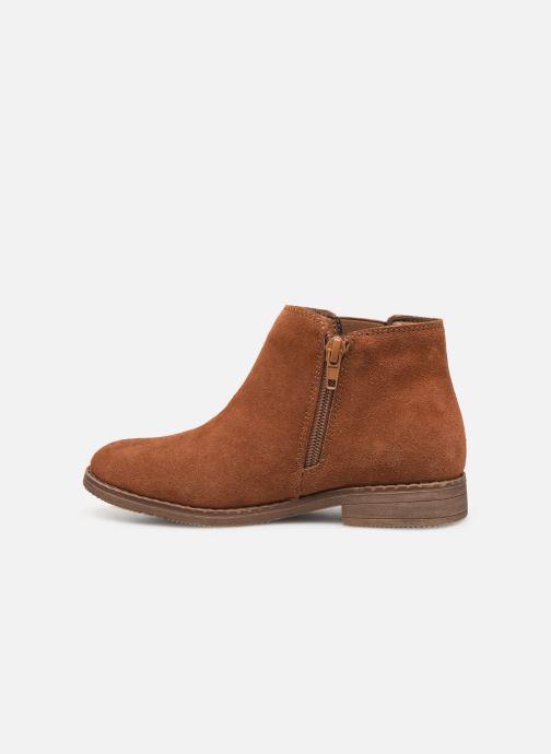 Stivaletti e tronchetti I Love Shoes KELYSSA LEATHER Marrone immagine frontale