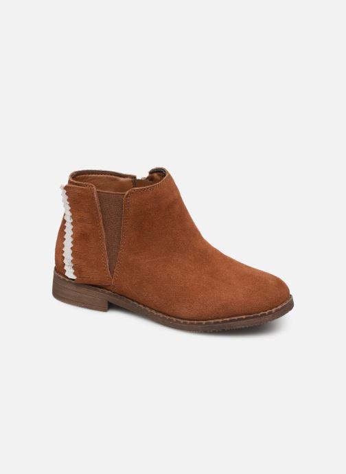 Bottines et boots I Love Shoes KELYSSA LEATHER Marron vue détail/paire