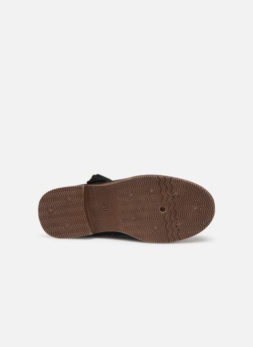 Stivaletti e tronchetti I Love Shoes KELSYE LEATHER Nero immagine dall'alto