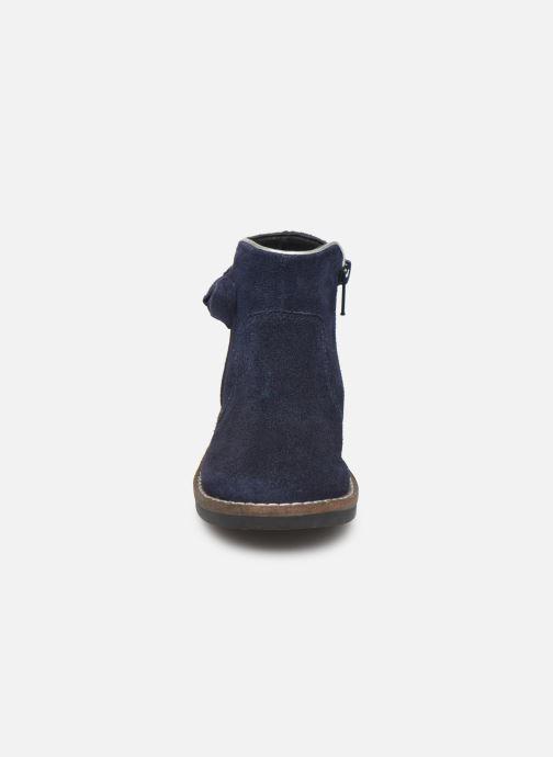 Botines  I Love Shoes KEIZA LEATHER Azul vista del modelo
