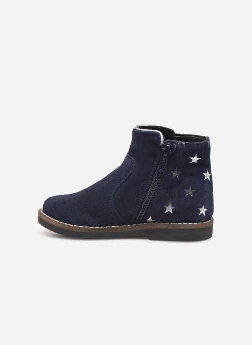 Boots en enkellaarsjes I Love Shoes KEIZA LEATHER Blauw voorkant