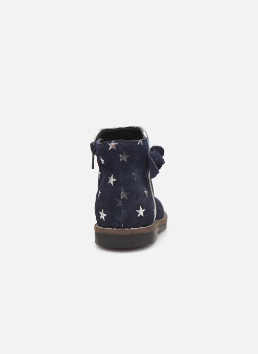 Bottines et boots I Love Shoes KEIZA LEATHER Bleu vue droite