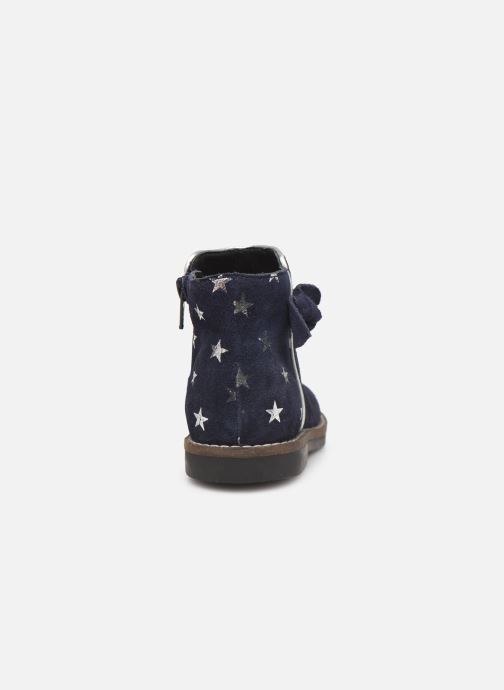 Boots en enkellaarsjes I Love Shoes KEIZA LEATHER Blauw rechts