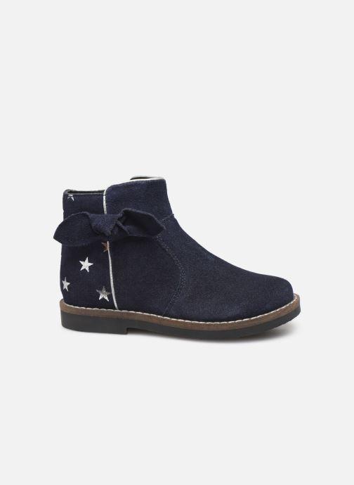 Botines  I Love Shoes KEIZA LEATHER Azul vistra trasera