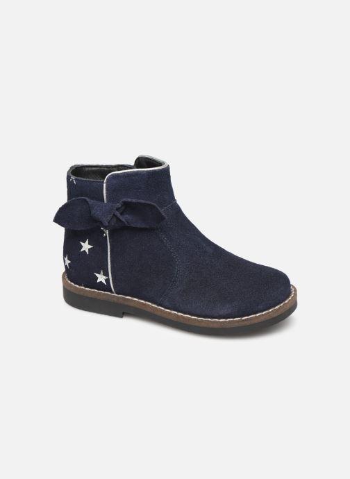 Bottines et boots I Love Shoes KEIZA LEATHER Bleu vue détail/paire