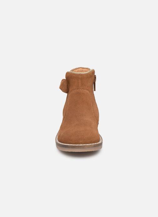 Bottines et boots I Love Shoes KEIZA LEATHER Marron vue portées chaussures