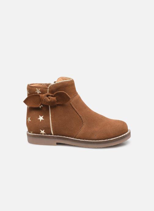 Boots en enkellaarsjes I Love Shoes KEIZA LEATHER Bruin achterkant