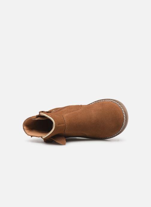 Boots en enkellaarsjes I Love Shoes KEIZA LEATHER Bruin links