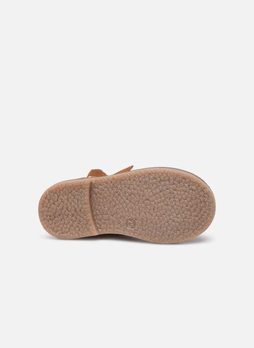 Boots en enkellaarsjes I Love Shoes KEIZA LEATHER Bruin boven
