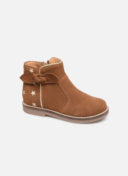 Boots en enkellaarsjes I Love Shoes KEIZA LEATHER Bruin detail
