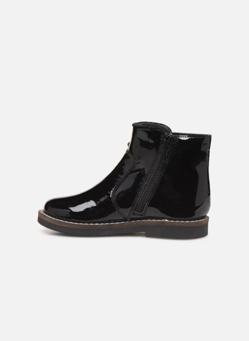Boots en enkellaarsjes I Love Shoes KEIZA LEATHER Zwart voorkant