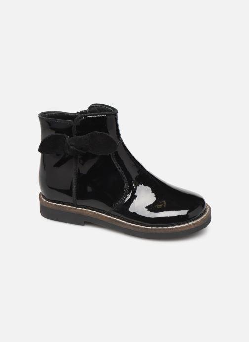 Boots I Love Shoes KEIZA LEATHER Svart detaljerad bild på paret