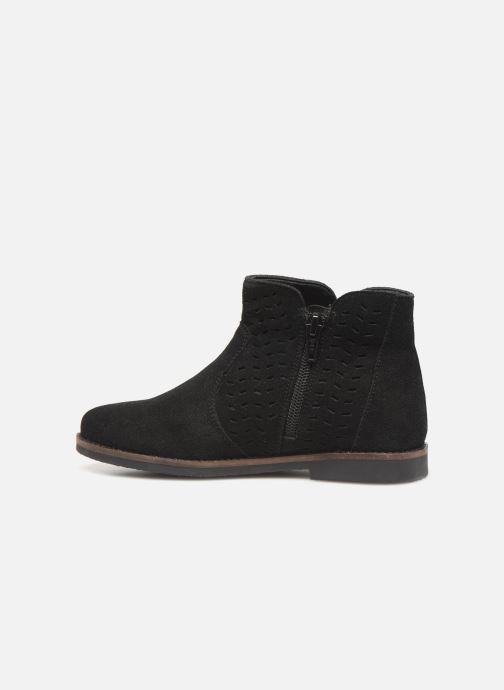 Boots en enkellaarsjes I Love Shoes KEITHA LEATHER Zwart voorkant