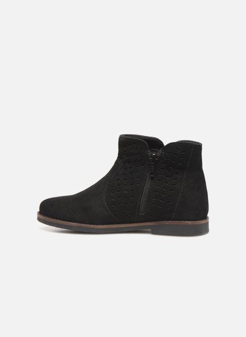 Bottines et boots I Love Shoes KEITHA LEATHER Noir vue face