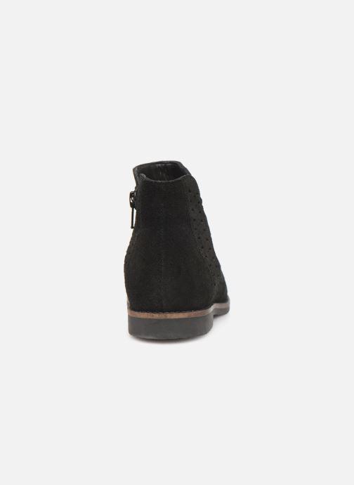 Boots en enkellaarsjes I Love Shoes KEITHA LEATHER Zwart rechts