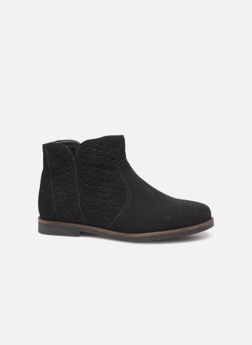 Boots en enkellaarsjes I Love Shoes KEITHA LEATHER Zwart achterkant