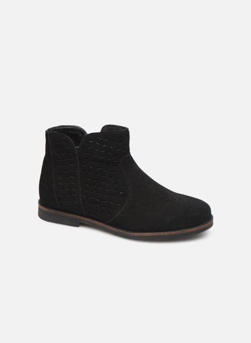 Boots en enkellaarsjes I Love Shoes KEITHA LEATHER Zwart detail