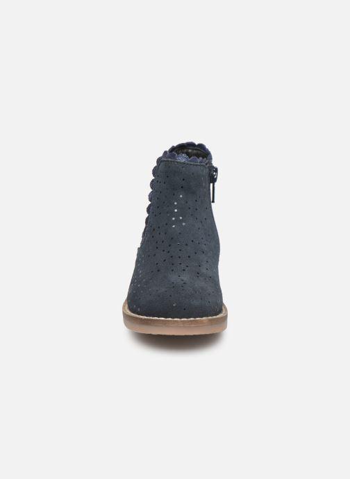 Stiefeletten & Boots I Love Shoes KELCY LEATHER blau schuhe getragen